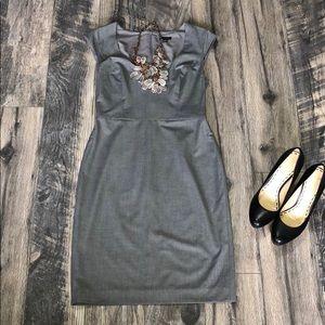 Ann Taylor grey dress